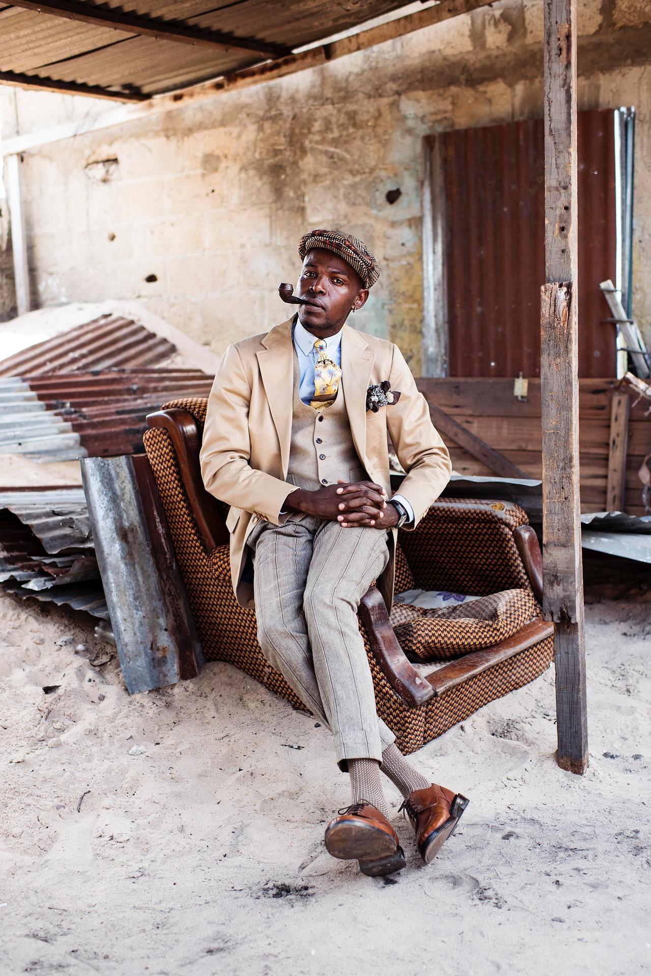 Kai Löffelbein - Pride and Prejudice – Sapeurs of Brazzaville - Felix Schoeller Photoaward