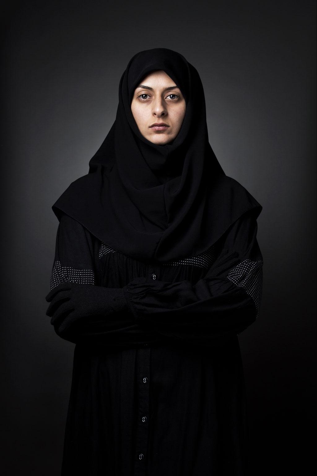 Samaneh Khosravi - Verhüllung - Felix Schoeller Photoaward