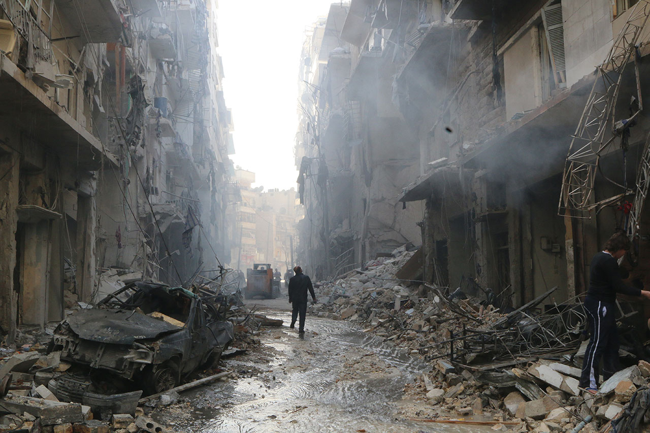 Hosam Katan - Living with War - Felix Schoeller Photoaward